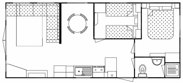Horizon Retreat 2 bedroom layout